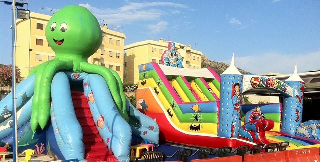 Festa da sogno noleggio attrezzatura lunapark sardegna for Noleggio di grandi masser